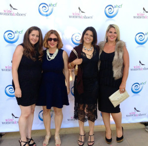 Wine, Women & Shoes for AHCF