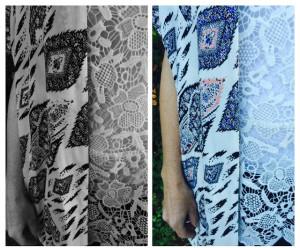 How to dress for Black & White photos.