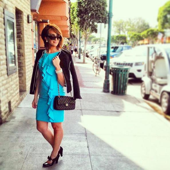 Marshalls, Blue Calvin Klein dress